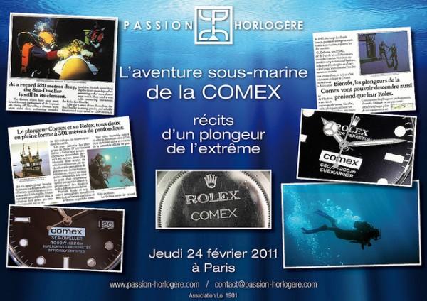 Rencontre exclusive autour de COMEX