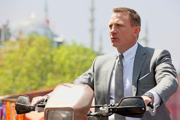 Et la montre de James Bond dans SKYFALL sera…
