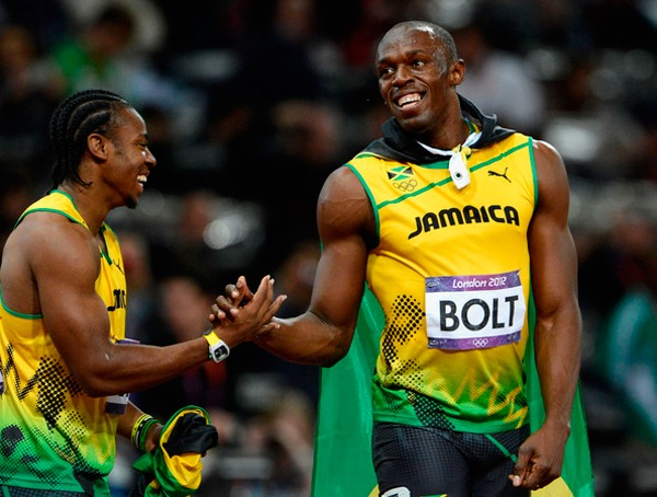 Hublot: King Power Usain Bolt Yohan+Blake+Olympics+Athletics