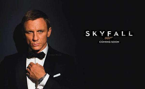 James Bond Skyfall featuring Omega Seamaster en images