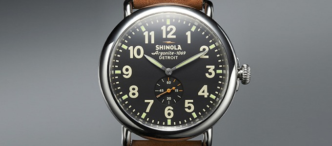 Shinola Watches: interesting brand?