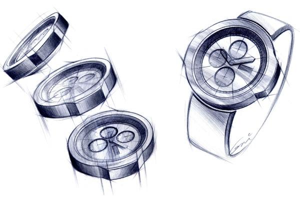 Montre ford design pens e et design e par les stylistes - Montre de cuisine design ...