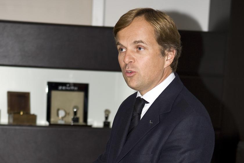 Jean Frederic Dufour patron Rolex