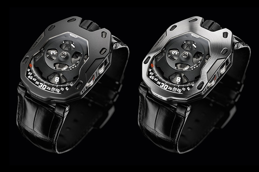 Urwerk 105M Iron Knight et Dark Knight