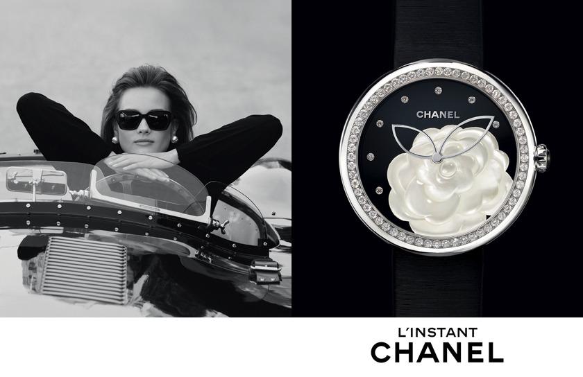 Publicit 233 Montres Chanel 2014 Nouvelle Campagne Chanel