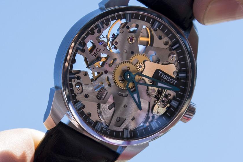 Tissot T-Complication Squelette Cadran