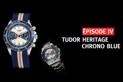 Tudor Heritage Chrono Blue Intro