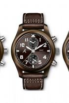 IWC Montre Aviateur Chronographe Edition The Last Flight