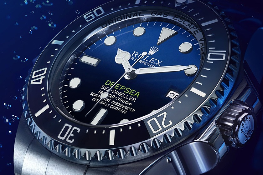 Rolex Deepsea Sea-Dweller D-Blue