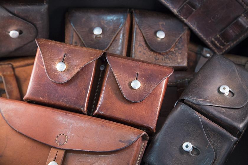 Cuirs pour bracelets de montre - Cuirs vintage