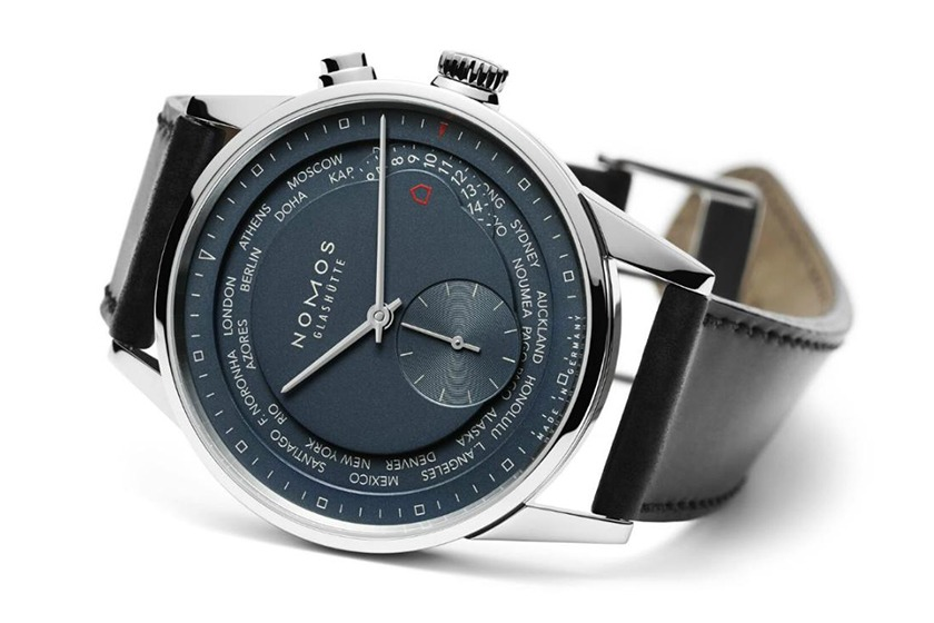 Nomos Zurich Worldtimer True-Blue