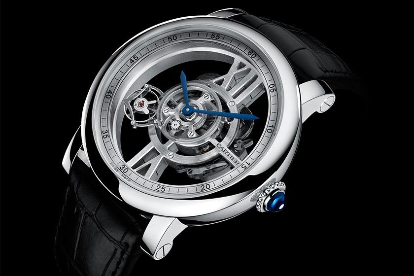 Cartier - Rotonde Astrotourbillon Squelette