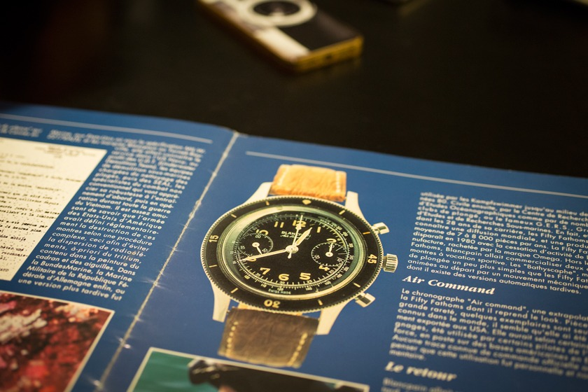 Chronograph Air Command Blancpain