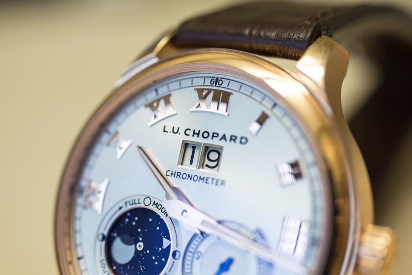 Cadran Chopard L.U.C Lunar Big Date