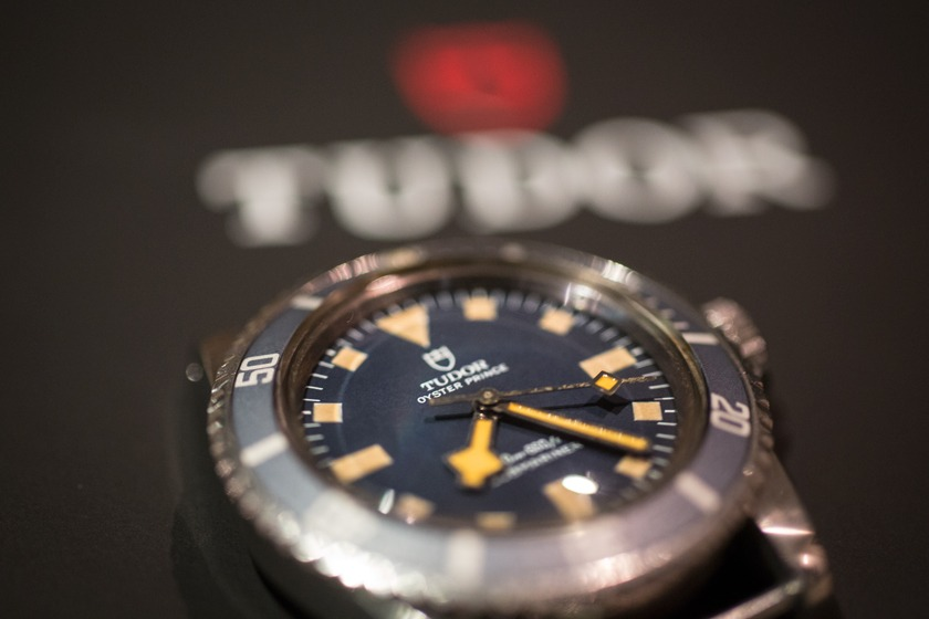 Tudor Submariner Marine Nationale : Cadran