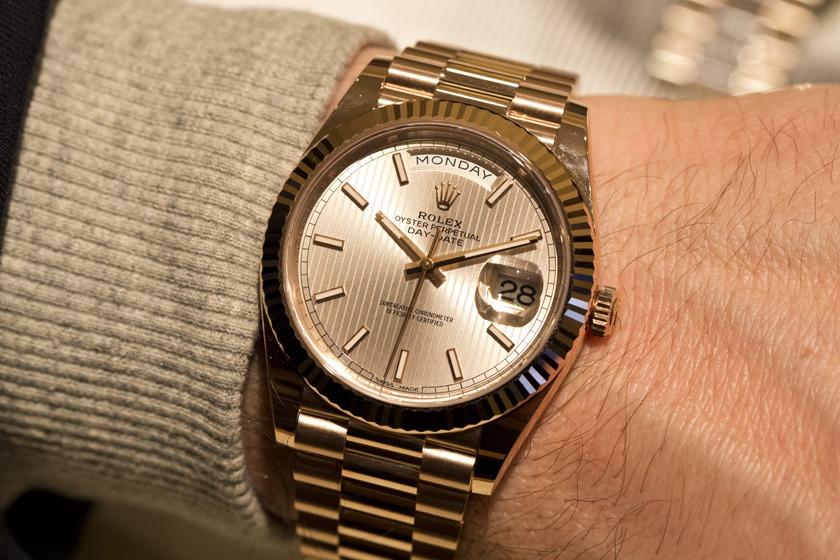 Rolex - Day-Date 40 bracelet président