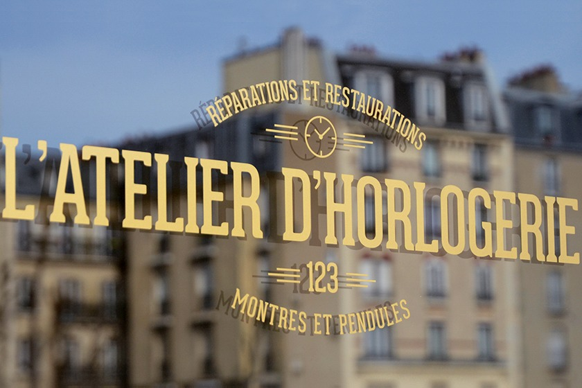 Atelier Horlogerie 123 Paris
