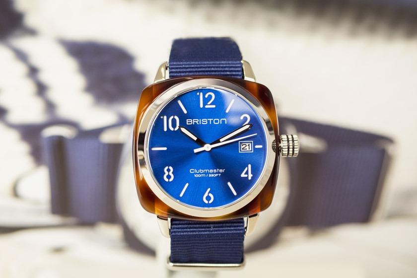 Briston - Clubmaster Cadran Bleu