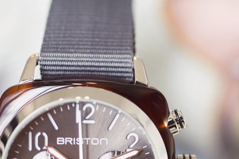 Briston - Clubmaster Cadran Gris