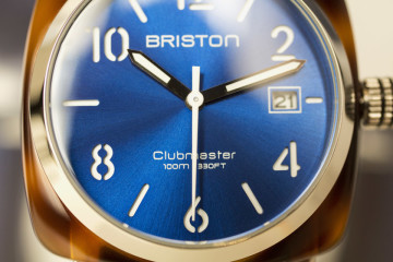 Briston clubmaster cadran bleu focus
