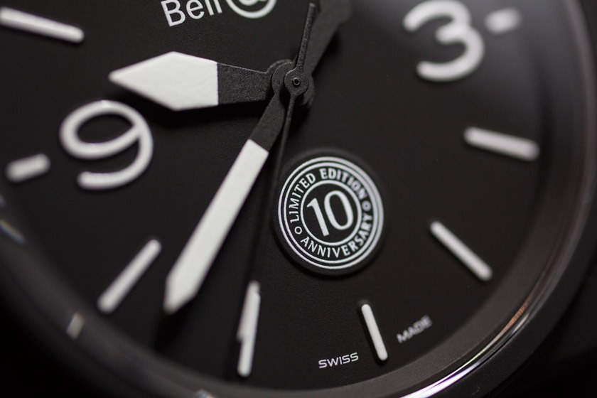 Montre Bell Ross BR01 Ltd 10th anniversary