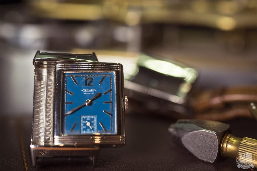 Jaeger-LeCoultre - Reverso Cadran Bleu 1935