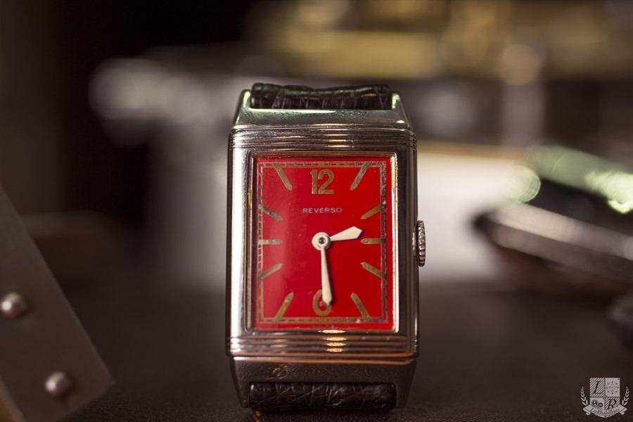Jaeger-LeCoultre - Reverso Cadran Rouge 1931 (focus)