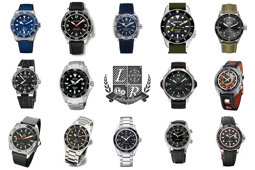 Sélection : Quelle montre de plongée pour votre été 2015 ?