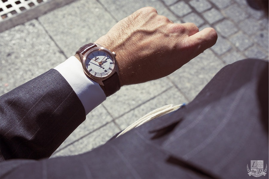 Shooting des nouvelles montres OMEGA 2015