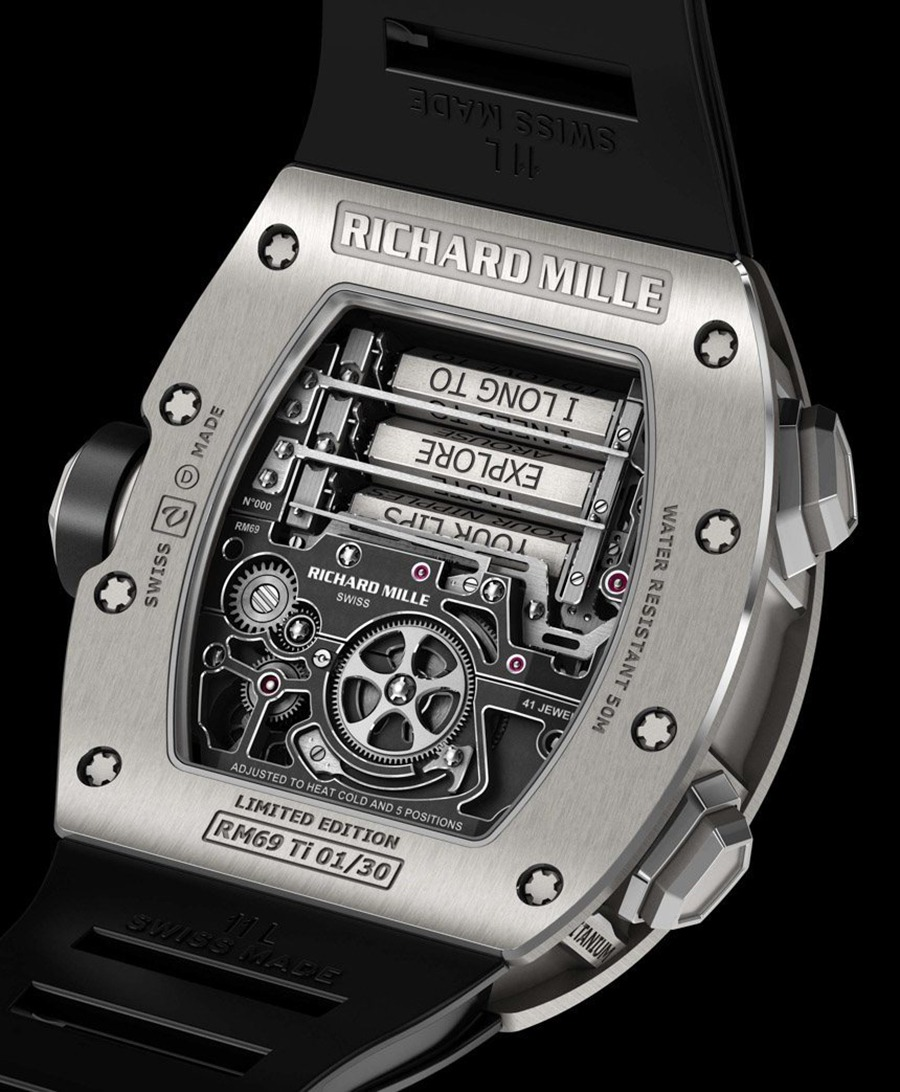 Richard Mille - RM69 Erotic Tourbillon Back
