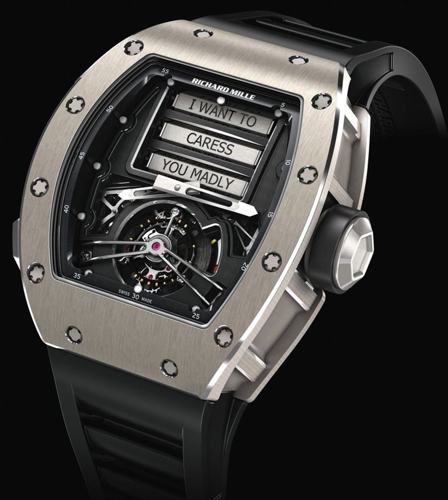 Richard Mille - RM69 Erotic Tourbillon