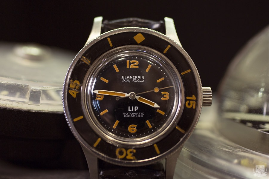 Blancpain LIP - Fifty Fathoms Rotomatic Incabloc circa 1955