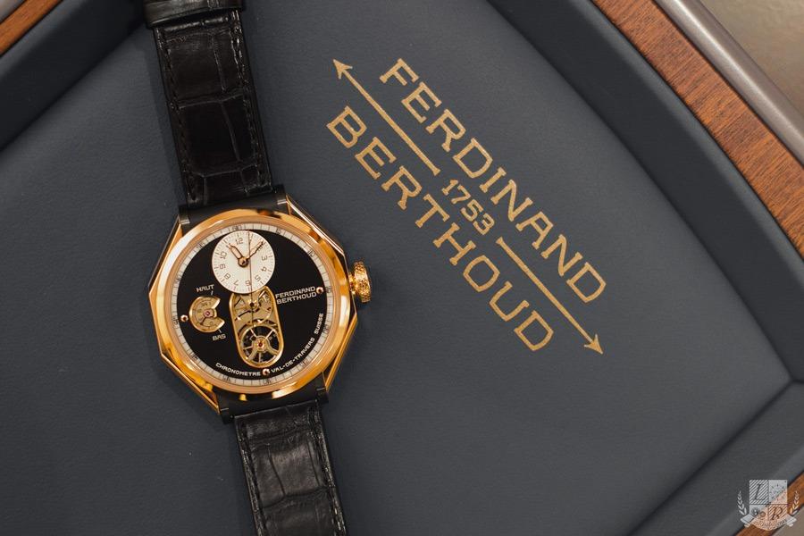 Ferdiand Berthoud - FB1 or rose