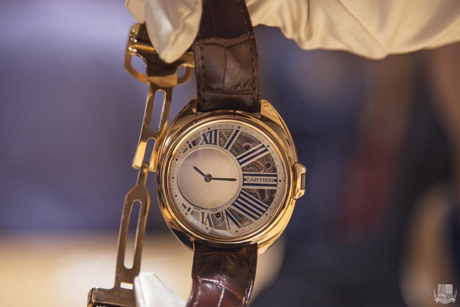 Clé de Cartier - Heure Mystérieuse