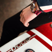 Briston Clubmaster Chrono - Alfa Red