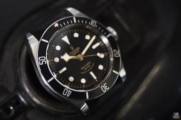 Tudor Black Bay Black - Focus
