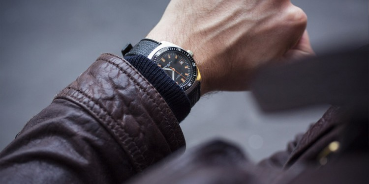 William L 70s style Diver - Détail Cadran