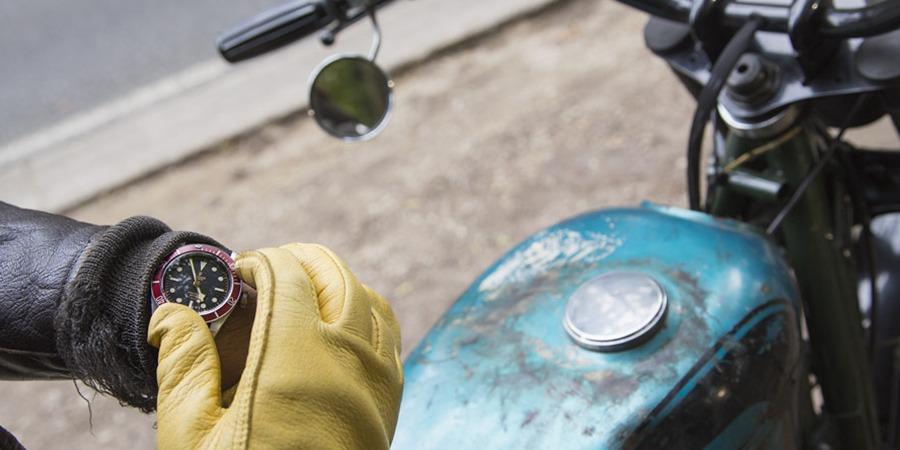 Blitz Motorcycles x Tudor Watches by Les Rhabilleurs