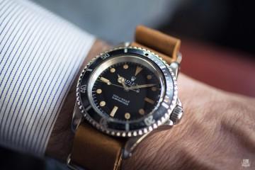 Vintage Rolex Submariner - 5513