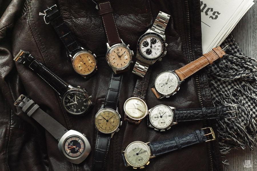 Sélection de montres vintage