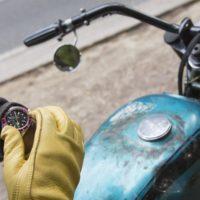 Tudor Black Bay x Blitz Motorcycles