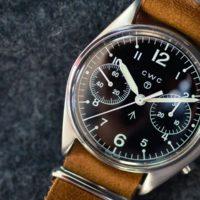 CWC 1970 Chronograph - focus