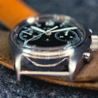 CWC 1970 Chronograph - focus plexi