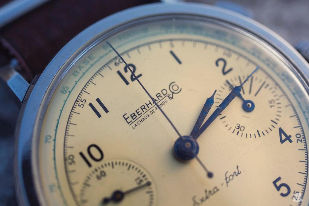 Chronographe Eberhard Extra-Fort - Focus