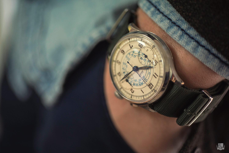 Chronographe vintage Tissot - wrist