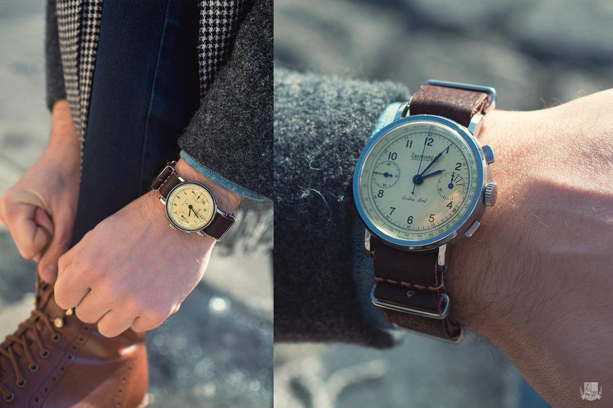 Chronographe Eberhard Extra-Fort - Wrist