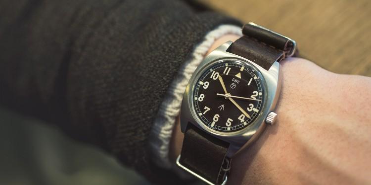 CWC Vintage 1979 W10 Military watch - wrist