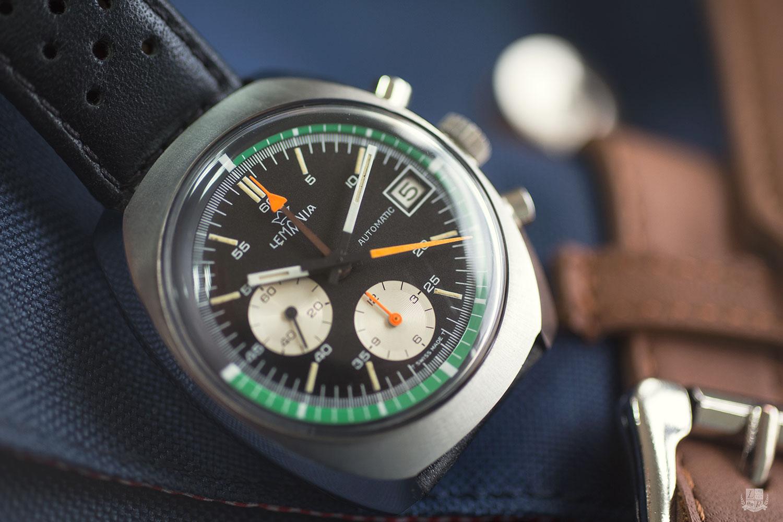 Chronographe Lemania 5100 - Cadran