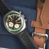 Chronographe Lemania 5100 - Focus