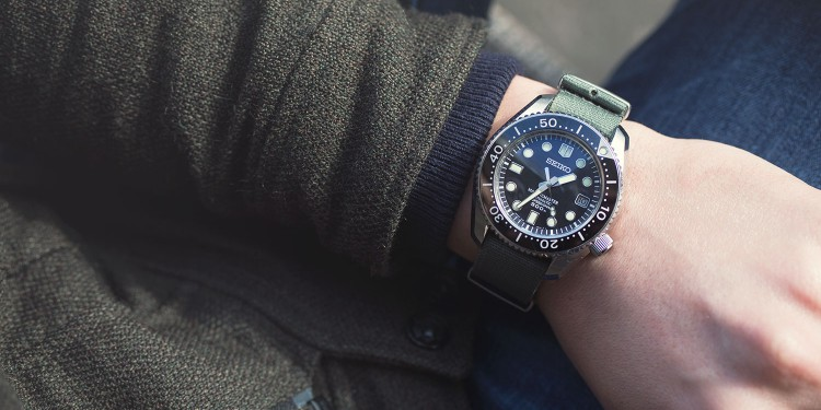 Seiko Marine Master 300 - New York Time